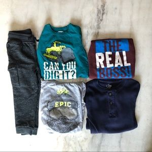 Boys 4T OshKosh &Childrens Place bundle